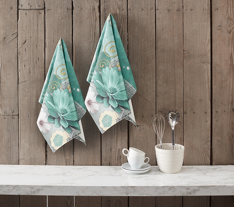 An Exclusive Collection Of Designer Kitchen Towels Brings A Trendy Desing  That Will Complement Your Kitchen Interior.