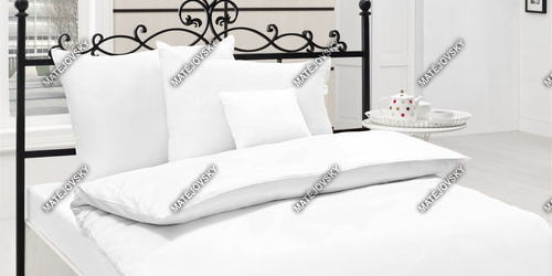 Bedding Cotton Satin White