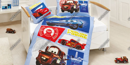 Bedding Cars Mater