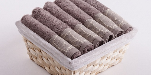 Towel Basket Beta 6pcs light brown
