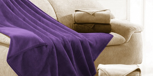 Blanket Ruby Dark Violet