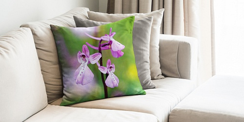 Decorative Pillowcase Light Orchid