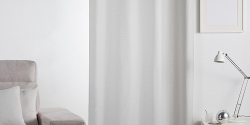 Unicolour Curtain Lilien Grey
