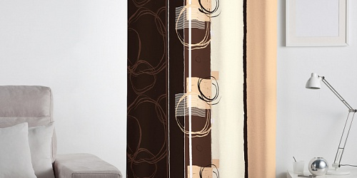 Decorative curtain Jamisson Beige