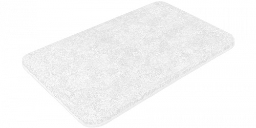 Bath mat SOFT white