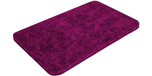 Bath mat SOFT fuchsia