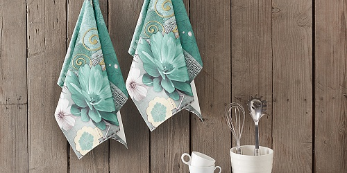 Kitchen towels Botanica