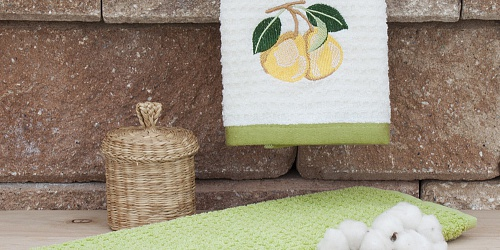Kitchen towels Green Pears