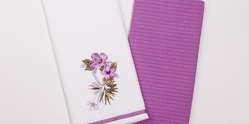 Kitchen towels Flowers