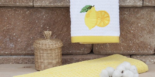 Kitchen towels Lemon
