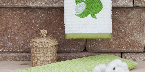 Kitchen towels Lime