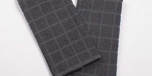 Kitchen Towel Linea Anthracite