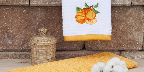 Kitchen towels Nectarine