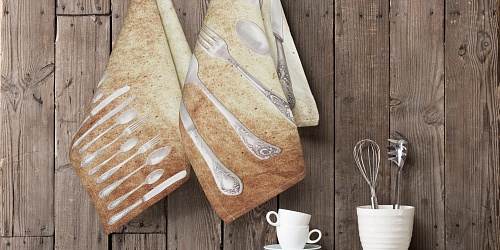 Kitchen towels Cutlery