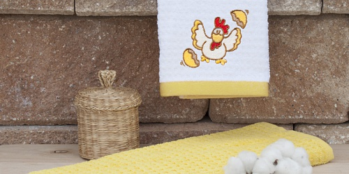 Kitchen towels Chicken
