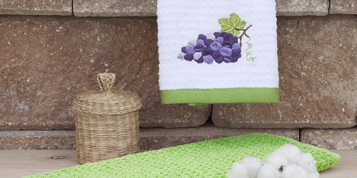 Kitchen towels Grapes Blue