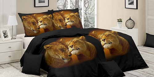 Bedding Lion Love
