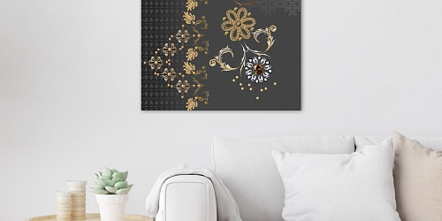 Canvas Print Gold