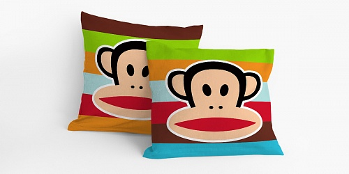 Pillowcase Paul Frank Stripe