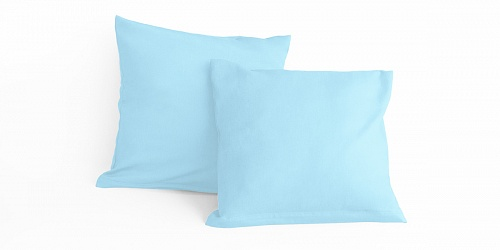 Pillowcase Light Ash Blue