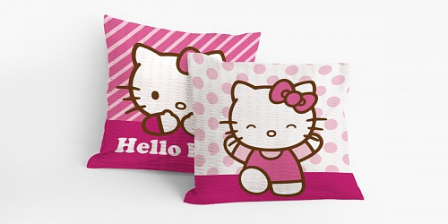 Coating Hello Kitty Patchwork