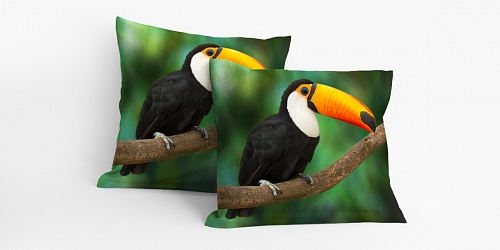 Pillowcase Tucan