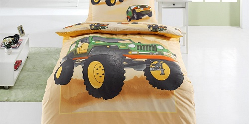 Bedding Jeep