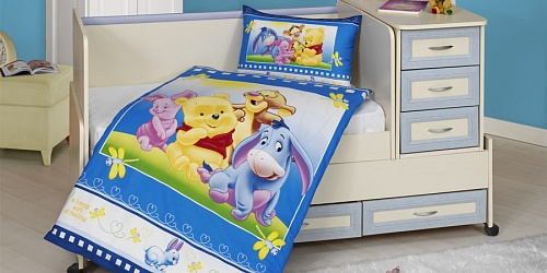 Bedding Winnie the Pooh with his Friends