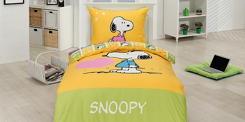 Bedding Snoopy Heart