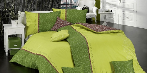 Bedding Toile Green