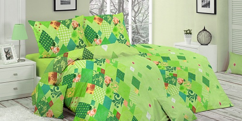 Bedding Valencia green