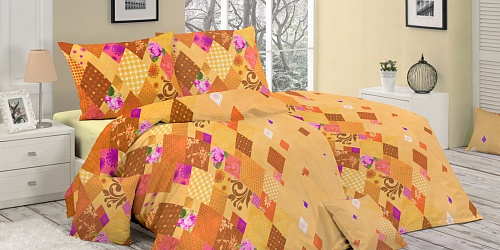 Bedding Valencia Orange
