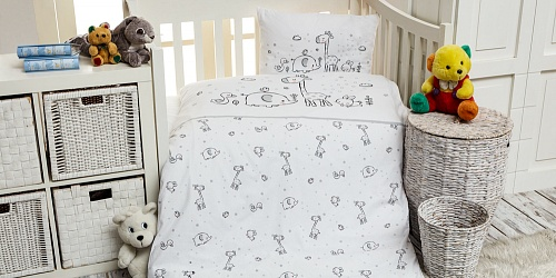 Bedding Giraffe and Friends
