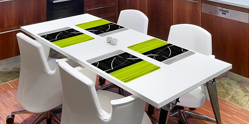 Placemat Eternity Green