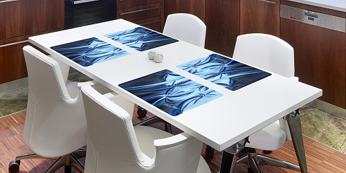 Placemat Galaxy Blue