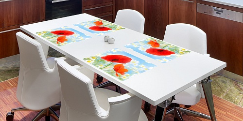 Placemat Field Poppy