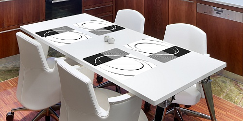 Placemat Royal Black
