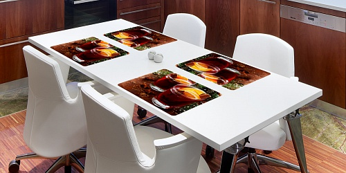 Placemat Mulled Wine