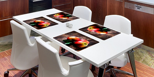 Placemat Three Apples