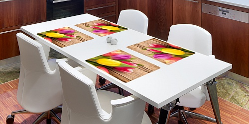 Placemat Tulipány