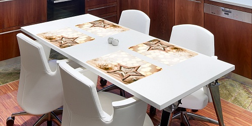 Placemat Christmas Star