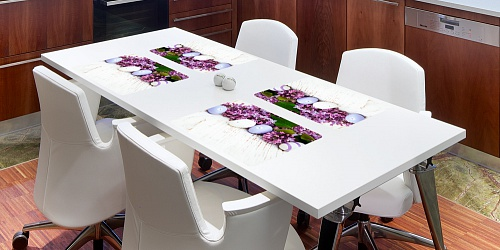 Placemat Easter - Lilac
