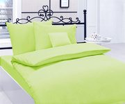 Bedding Cotton Satin Green