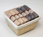 Towel Basket Infinity 6 pcs