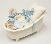 Giftset Bathtub Baby blue