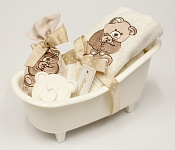 Giftset Bathtub Teddybear