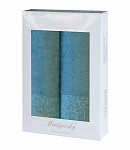 Towel Gift Box Beta 2 pcs azure
