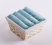 Towel Basket Beta 4pcs azure