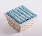 Towel Basket Beta 6pcs azure