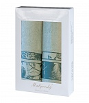 Gift wrapping towels Dove 2 pcs light mint